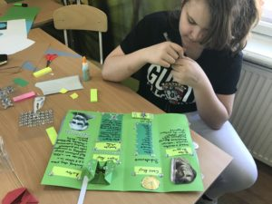 Porządkowanie wiedzy na kolanie - tworzymy mapy myśli i lapbooki!